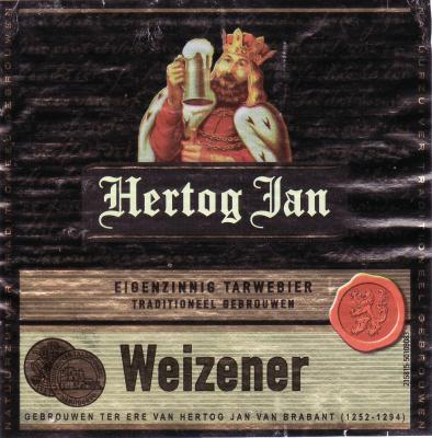 Bier Hertog Jan Weizener orgineel